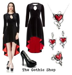 """Immortal"" by thegothicshop on Polyvore featuring women's clothing, women's fashion, women, female, woman, misses and juniors"