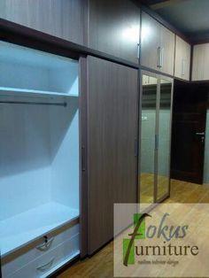 Kitchen set minimalis, Lemari pakaian custom jakarta harga murah per meter