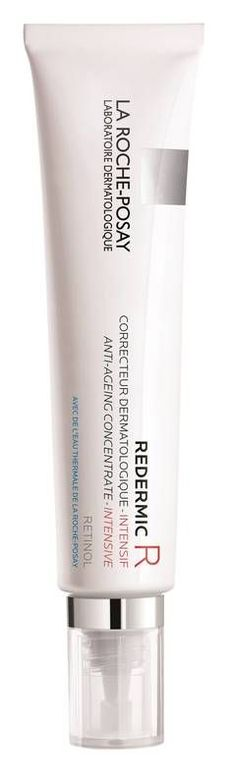 Redermic [R] Anti-Aging Concentrate Intensive visibly reduces wrinkles with La Roche-Posay highest concentration of pure retinol with virtually no irritation. Smoothes skin texture and helps even tone.