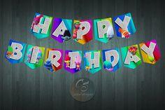 TROLLS the Movie HAPPY BIRTHDAY Banner  | Digital Item | No item will be shipped