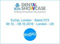 SHOFU Dental Blog: BDIA Dental Showcase 2016 · London - UK