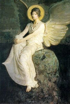 Abbott Handerson Thayer - angel of the dawn