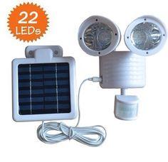 22LED SOLAR SENSOR LAMP FOR HOUSE USING !