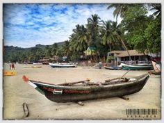 Disfrutando de las playas de Goa