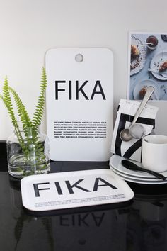 Fika white - new design. www.ilovedesign.net