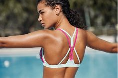 The Speedo range is designed with the environment in mind. Shop environmentally friendly swimwear at Speedo. Bikinis, Swimwear, Thong Bikini, Product Launch, Swimming, Workout Outfits, Lifestyle, Beach, Eco Friendly