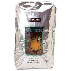 Colombian Supremo Whole Bean Coffee by Fresh Kirkland Signature - Whole Bean Coffee Colombian Supremo 3 lb bag - http://crazygoodcoffee.com/wp/?p=89