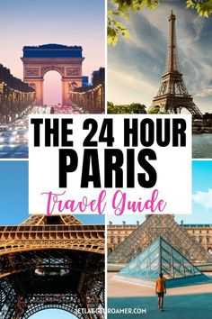 Bonjour! Want to know how to get around with only 24-hours in Paris? Well, here is your complete Paris travel guide to explore the city with  your short time.  Don't miss where to find the best croissants and macaroons with this quick Paris itinerary. Follow this Paris travel guide for the best things to do in Paris while there. See Paris like a Parisian. #ParisFrancethingstodo #parisitinerary #pariscitytrip #24hoursinparis #travelguide Paris Travel Guide, Europe Travel Tips, Travel Guides, Travel Hacks, Backpacking Europe, One Day Trip, Day Trips, Bucket List Europe, Paris Itinerary