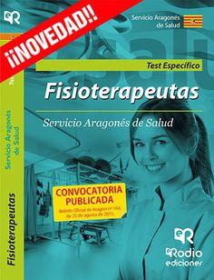 9788416506132 Fisioterapeutas. Test Materia Específica. Servicio Aragonés de Salud  #empleo #oposiciones #salud