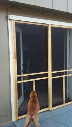 Double Sliding Patio Doors With Screens
