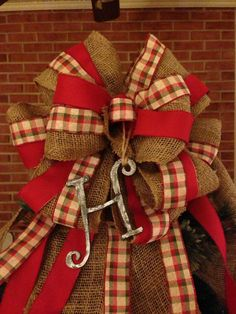 XL Christmas tree topper bow 6 ft streamers.14 in by LaynasGarden