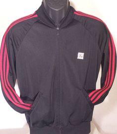 Vintage Todd 1 Mens Size Medium Break Dancing Hip Hop Rap Track Jacket #Todd1 #Windbreaker