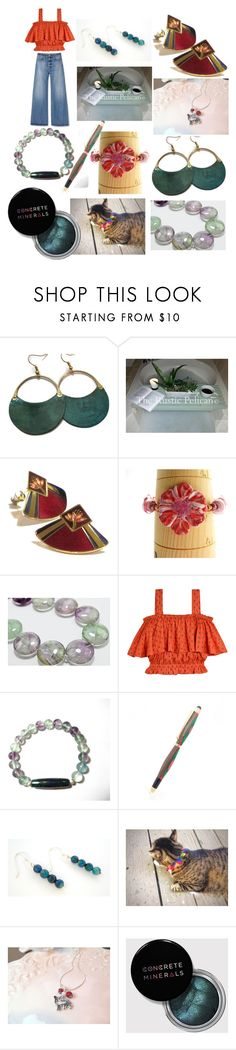 """Summer Beauties"" by anna-recycle ❤ liked on Polyvore featuring Laurel Burch, Samantha Pleet, modern, rustic and vintage"