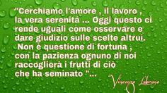 Pensiero del mattino  .. Vincenzo Lubrano