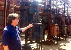 80-year-old equipment at SEPTA's Wayne Junction substation. NewsWorks