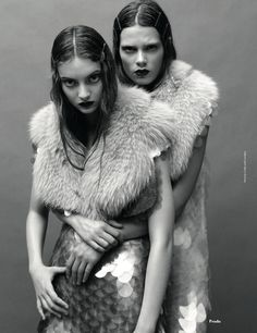 Dan Jackson / AnOther Magazine Fall 2011. Fish or mermaid inspired?