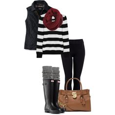 """A Rainy Day Out!"" by jjanstover on Polyvore"