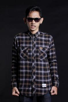 FLANEL - 308 ABSOLUTE UNSCARED -  MADE IN INDONESIA - YOGYAKARTA
