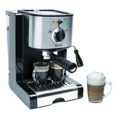 Create new and delicious gourmet coffee beverages quickly and easily with the stainless-steel lined ThermoBlock.