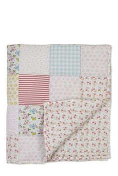 Buy Little Poppet Cot Bed Quilt from the Next UK online shop