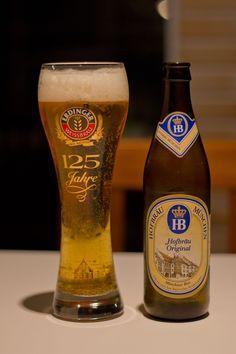 Hofbräu Original    Uma lager alemã deliciosa. Sabor e aromas suaves e refrescante.