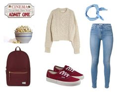 """To the cinema with friends"" by fannihttp on Polyvore"