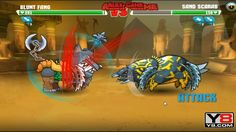 Mutant Fighting Cup 2 (Africa Cup 6) Blunt Fang VS Sand Scarab (Dog Part 26)
