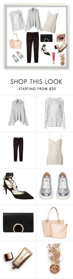 """""""Easy Wear From Day To Night"""" by pinkfalmingo on Polyvore featuring Witchery, Too Faced Cosmetics, Nude by Nature and In Your Dreams"""