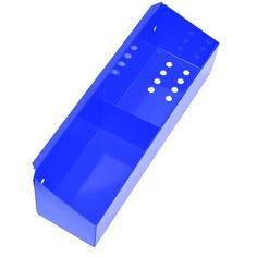 Homak Professional 27 in. Side Tool Holder in Blue