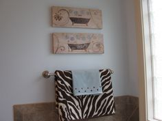 Love these prints with the chocolate zebra mixed in! TJ Maxx