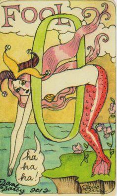 Dame Darcy Mermaid Tarot - The Fool