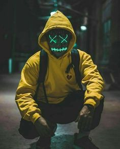 Purge Mask - Halloween Mask - LED Light Up Mask - Perfect for Parties and Raves and photoshoots Character Inspiration, Character Design, Purge Mask, Graphic Novel, Supreme Wallpaper, Dope Art, Shadowrun, Image Hd, Picsart