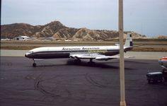 35mm Color Slide Aerolineas Argentinas Airplane Argentina Plane 1959