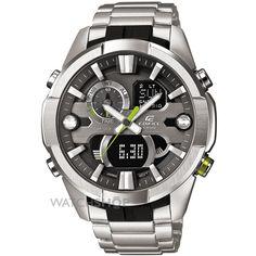Mens Casio Edifice Alarm Chronograph Watch ERA-201D-1AVEF