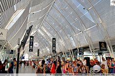 Hall de la Gare de Montpellier-Saint-Roch (France / Languedoc-Roussillon-Midi-Pyrénées / Hérault)