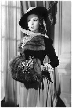 Vivien Leigh in That Hamilton Woman.
