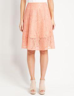Rosalita Mesh Midi Skirt | Dotti