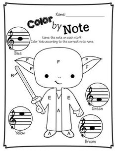 NOTE WARS - MUSIC WORKSHEETS - TeachersPayTeachers.com