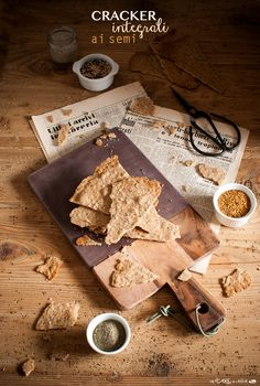Wholemeal crackers - Cracker integrali