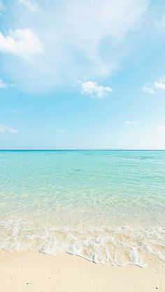 Beach Strand Wallpaper, Ocean Wallpaper, Summer Wallpaper, Sea And Ocean, Ocean Beach, Paradis Tropical, Beach Background, Beach Aesthetic, Tropical Vibes
