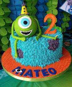 monster's inc. cakes - Yahoo Image Search Results