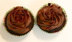 How To Decorate  A Cupcake and Chocolate Frosting Recipe
