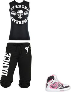 """""""Avenged Sevenfold Dance outfit"""" by dakera-lynn-swift ❤ liked on Polyvore"""