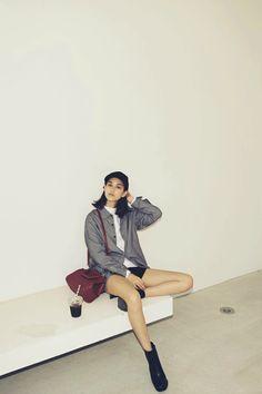 Kiko Mizuhara wearing EMODA for Vivi Magazine November 2015.