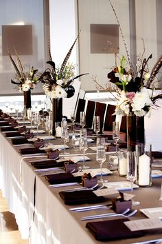 Image result for Pheasant table setting