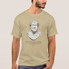 Aristotle Educated Mind T-Shirt