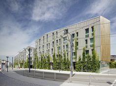 Stadthaus M1 - Green City Hotel | Barkow Leibinger; Photo © Zooey Braun | Archinect