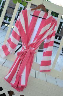 Bath Robe from Beach Towels