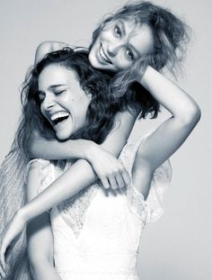 Natalie Portman and Lily-Rose Depp, photographed by Driu & Tiago for Madame…
