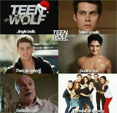 Most popular tags for this image include: teen wolf, christmas, stiles stilinski, funny and jingle bells .hmmm i think derek smells would fit better Stiles Teen Wolf, Teen Wolf Scott, Teen Wolf Boys, Teen Wolf Dylan, Teen Wolf Malia, Teen Wolf Isaac, Teen Wolf Memes, Teen Wolf Quotes, Teen Wolf Funny